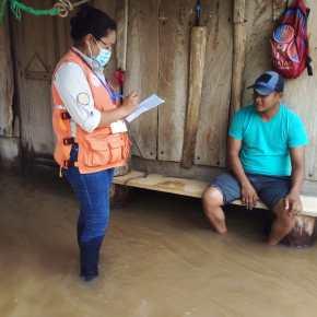 191 incidentes en 7 semanas de la temporada de lluvia2021
