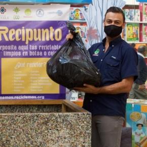 Recicla y acércate a los recipuntos ubicados enCemaco