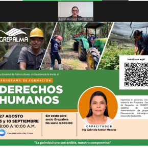 La OIT destaca guía y programa del gremio palmicultor deGuatemala